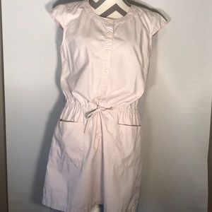 J.Crew Light Lavender Short Sleeve Shirt Dress